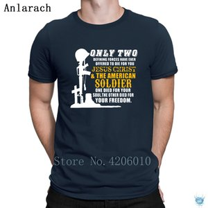 Only Two Defining Forces Have Ever Offered To Die T-Shirt Basic Novelty Men's Tshirt Summer Character Anlarach Anti-Wrinkle