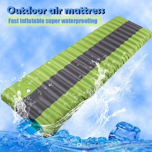 Camping Furniture Increase Tent built-in mattress the moisture-proof pad, ultra - light inflatable pad, foot press type air cushion Blowout