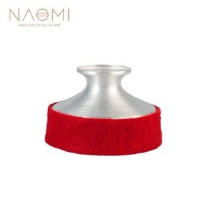 NAOMI Aluminium Alliage Sax Sourdine Alto Sax Sourdine Saxophone Son Dampener Pratique Silencieux Pour Saxophone Alto Rouge Couleur Nouveau