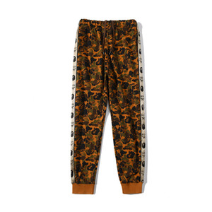 New Arrival Autumn Winter Men's Desert Terry Camo Causel Sportswear Pants Lover Sport Hip Hop Pants Trousers
