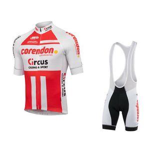 SPTGRVO LairschDan Pro CORENDON-CIRCUS TEAM Cycling Clothing 2020 MTB Bike Jersey Men Suit Ropa Ciclismo Hombre Bike Outfit Ki