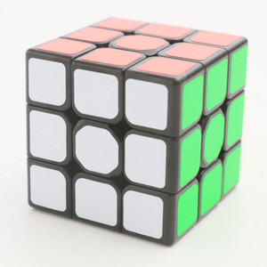 Новые пластиковые Cube 3x3x3 Magic Cube 5.6cm Профессиональные головоломки Вращающийся Smooth Cubos Magicos игрушки для детей подарки