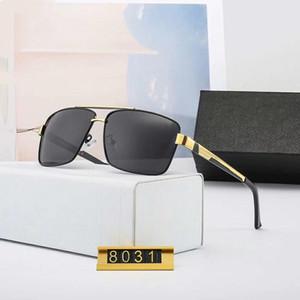 Мужские Солнцезащитные очки Солнцезащитные очки Man Summer Goggle Очки P 8031 UV400 4 цвета высоко качества с коробкой