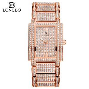 2020 Валентина бриллиантовый часы для женщин люксовый бренд дамы золотые квадратные часы минимализм аналоговые кварцевые женские часы