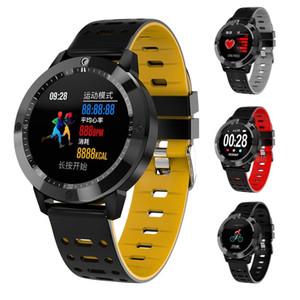 CF58 relógio inteligente IP67 Waterproof Atividade Passo Reminder Contador Rastreador Heart Rate Monitor Sports Smart Call Relógio de pulso