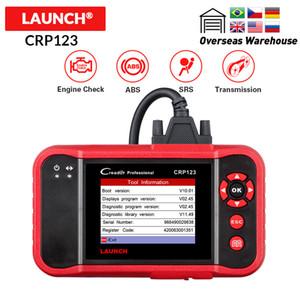 Creader CRP123 Soporte del motor / ABS / SRS / Código Automotive Transmission lector del coche herramienta de diagnóstico PCR actualización 123 explorador libre