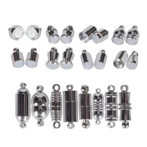 DIY en acier inoxydable fermoirs magnétiques pour la fabrication de bijoux Handmde Collier Bracelet connecteur Jewellery Supplies Constats