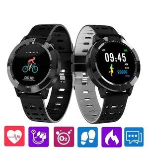 CF58 intelligente Guarda sanguigna La pressione sanguigna ossigeno cardiofrequenzimetro Tracker intelligente polso Fitness Tracker braccialetto per iPhone orologio Android