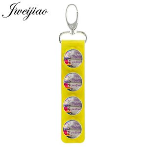 French Merci Maitresse Pencil Pattern Glass Snap Button Keychain Yellow Leather Charm Thank Teacher Gift Jewelry NT49