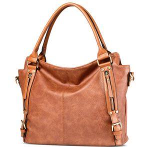 2019 cross-border new fashion trend women's bag one shoulder diagonal straddle wear resistant handbag for women