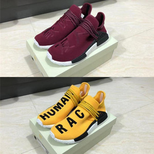 Release Pharrell Williams Tr Human Race Hu Trail Casual Shoes Men Women Pw Real Boots Nerd Solar Pack Authentic Sneakers Sports