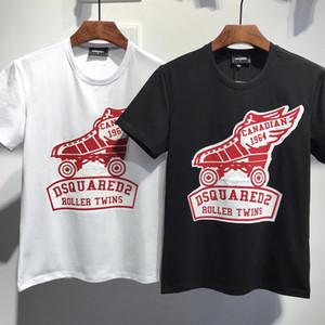 Les hommes luxurys Chemise 2019 été New Arrival chemise Designers Vêtements homme Mode T-shirt D2 ICON Imprimer T-shirts DT549