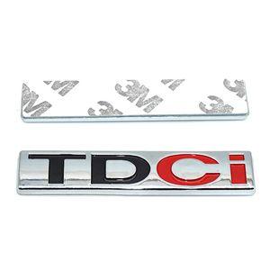 FORD TDCi Rozet Araç Gövde Fender Emblem Sticker StylingDecoration TDCi Fit Mondeo Explorer Mustang fiesta Escort Kuga eko Spor için