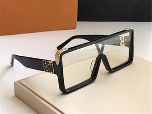 MILLONARIO de lujo 1258 gafas de sol para los hombres gafas de sol de diseño Vintage marco completo para los hombres brillante del logotipo del oro caliente de la venta de oro chapado Top Z1258E