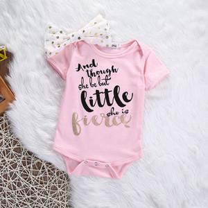 Recién nacido Ropa de bebé Ropa de abrigo Conjuntos de bebé Mameluco casual + Traje de diadema Roupa Infantil Traje de bebé