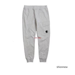 Sonbahar ince moda erkekler rahat pantolon pantolon spor CP Lens Sweatpants