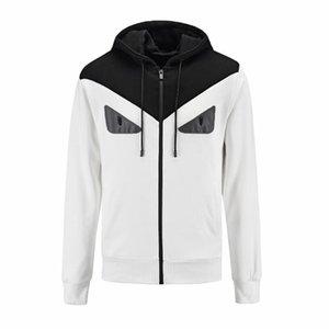 2019 новинка мужские дизайнерские зимние пальто повседневная контрастность цвета спортивные пальто мужчины роскошные глаза куртки бесплатная доставка