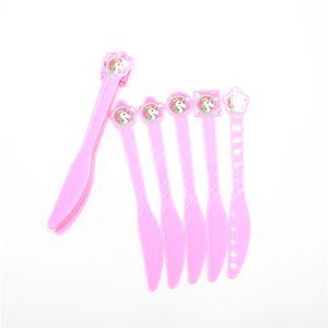 Forchette monouso Coltelli Cucchiai Unicorno Compleanno Decorazioni per feste Bambini Baby Shower Party Supplies Bomboniere per ragazza