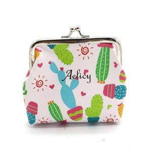 Designer-Aelicy 2018 caldi delle donne di nuovo modo di luce di alta qualità ragazze carine moda spuntini della moneta del raccoglitore della borsa Bag Holder Change Pouch chiave
