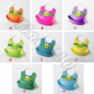 Nuovo stile durevole articoli per neonati bavaglino di plastica Bavaglino impermeabile bavaglini anti sporco Bavaglini T6G6003