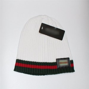 Brand Winter Beanies Knitted Cap Trendy Hat Couple Warm Oversize Hip Hop Hats Knitted Bonnet Hat