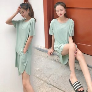 Lazy ice cool Rental pajamas pajamas jelly color small ice cool suit slim royal lazy outside wear renters houmo