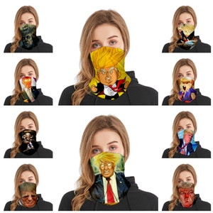 Trump headband adult sports multi functional Trump magic scarf women and men mask riding mask Party masks T2I51123