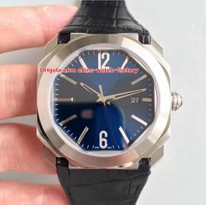 8 Stil Luxus Beste Edition Uhr Top Fabrik 41mm x 10mm OCTO 101964 BGO41BSLD 316L Stahl Schweizer CAL.9015 Bewegung Automatische Herrenuhren
