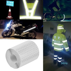 Wholesale-Reflective Tape Bicycle Stickers 5cmx3m Safety Mark Warning Conspicuity Tapes Film Sticker Car Truck Motorcycle Cycling Stickers