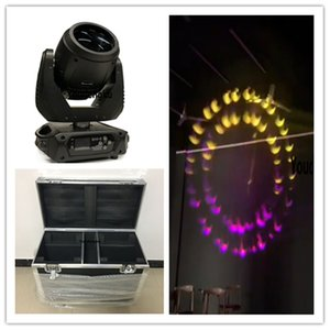 2 pezzi Mini testa mobile sharp dj light movil beam 280 moving head Proiettore a fascio Lyre 10r con flightcase
