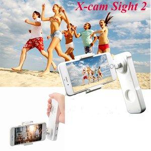 Freeshipping Vitopal Sight 2 X-kam stabilizatör 2 iPhone 6 / 6s / 5 Samsung Huawei Xiaomi için Bluetooth ile Fırçasız Gimbal ekseni