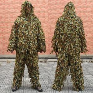 Sniper Special Force Ghillie Anzug Ghilly Yowie Einbringer Cloth Paintball Kampf-taktische Digital-Woodland Hoodie