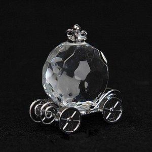 200pcs los regalos del banquete de boda para los huéspedes de regalo de cristal de Cenicienta Coche de la calabaza para casar favores de partido brithday