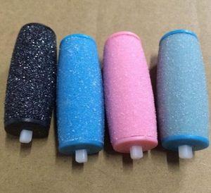 Pies eléctricos callo Removedores cabezas reemplazables Foot File Remover la piel dura de herramientas de pedicura para los talones agrietados y la piel muerta KKA7807
