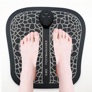 Электрический EMS массажер для ног Pad ноги мышечный стимулятор массаж ног коврик для улучшения кровообращения облегчить боль боли здравоохранения