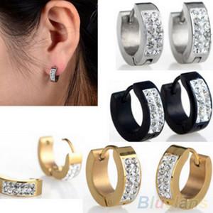 European and American Fashion New Earrings Never Fade Titanium Steel Diamond Set Earrings Cool Original Earrings Hot Selling Jewelry Wholesa