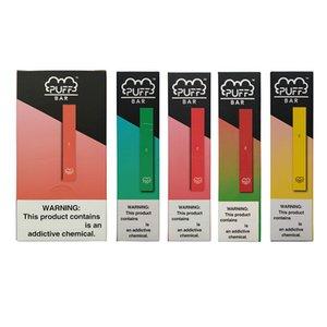 2020 High Quality Puff Bar Vape Pen Pod Kit Portable Vape starter Kit 1.3ml Pod Thick oil Cartridges 280mAh Battery Disposable Vaporizer