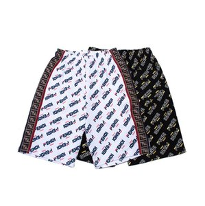 Mens Designer Summer Shorts Pants Fashion 2 Colors Printed Drawstring Shorts 20ss Relaxed Homme Men's Beach short Sweatpants#a003
