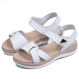 0722hzd215 новые Популярные на открытом воздухе прогулочные плоские тапочки мужские сандалии женские летние прохладные пляжные сандалии с коробкой