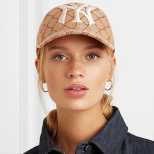 19ss Логотип Hat моды Логотип Италия вышивки Радуга Cap Luxury Street Открытый Путешествия Рыбалка Cap Мода Повседневная Hat HFTTMZ014