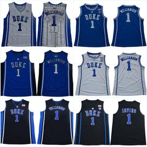 Duke Blue # 21 Matthew fere # 1 Vernon Carey Jr. # 3 Tre Jones # 2 Cassius Stanley # 15 Alex O'Connell 2020 New Style costurado Colégio Jerseys