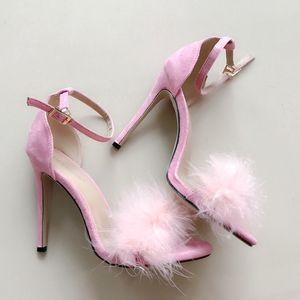 Fairy2019 Fisch Baby Mund hochhackige One Word Bring Sandals 43 Will Damenschuhe