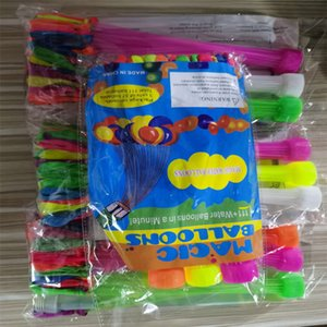 Water Balloons 1Pcs=111balloon Colorful Water filled Balloon Bunch of Balloons Amazing Magic Bombs Toys filling Water Ballons Games toys Q01
