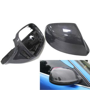 Audi Rearview Mirror Modified Q5 SQ5 Q7 Carbon Fiber Rearview Mirror Shell Cover Reversing Rear View Mirror Cover