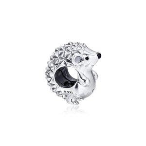 Nino Riccio fascino argento 925 animali misura branelli Pandora Style Charms collana fai da te braccialetti del pendente per i monili delle donne 798353EN16