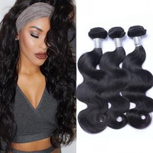 Перуанские наращивания волос для волос перуанской волны необработанные гуляющие волосы 3 пакета девственные волосы 8-26 дюймов