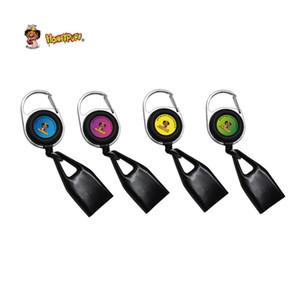 Silicone di alta qualità Lighter Leash Copertura sicura Stash clip retrattile portachiavi elastici portatile Porta Accendini Accessori Accendini Smoking