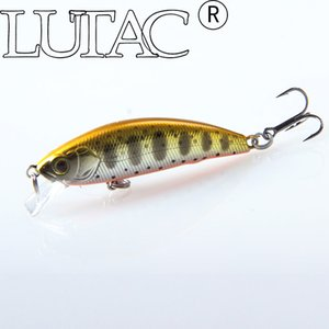 LUTAC 50mm 5g Sinking Water Fishing Hard Bait BKK hook Hot Sell Mini Minnow Hard Lure Set LM02-1-7 1PCS Jerkbait