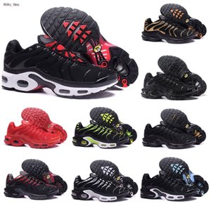 2020 tn plus SE men running shoes ultra triple black white Hyper Blue Total Crimson Deluxe mens trainer fashion sports sneakers runner