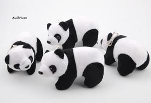 12CM Plush Panda Animal Stuffed Plush TOY DOLL ; Key Chain Pendant TOY Gift DOLL